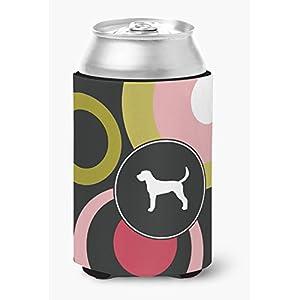 Caroline's Treasures KJ1006CC American Foxhound Can or Bottle Beverage Insulator Hugger, Can Hugger, multicolor 4