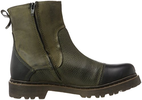 Yellow Cab Herren Stone M Chelsea Boots Grau (Moss)