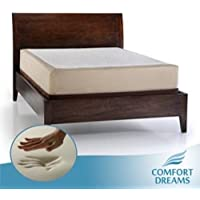 Comfort Dreams Select-A-Firmness 11-inch Queen-size Memory Foam Bed Mattress Soft Medium Firm