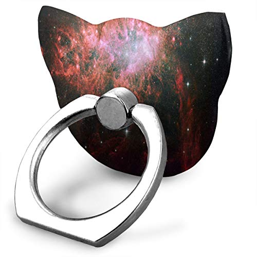 Phone Stand Starburst in A Dwarf Irregular Galaxy Ring Phone Holder Adjustable 360° Rotation for iPhone, IPad, Samsung Galaxy S9/S8 and More Smartphones (Adjustable Starburst Ring)