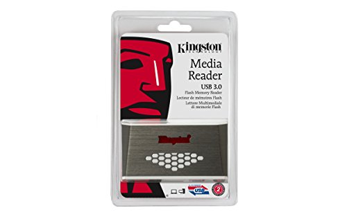 Kingston Digital USB 3.0 Super Speed Multi-Card Reader for SD/SDHC/SDXC/microSD/MS/Compact Flash CF Cards (FCR-HS4) by Kingston (Image #4)