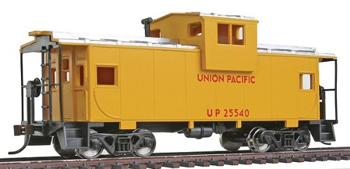 Walthers Trainline Wide Vision Caboose with Metal Wheels Ready to Run Union Pacific ()