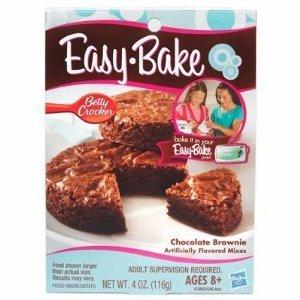 Hasbro Easy Bake Chocolate Brownie Dessert MIX Kids Oven
