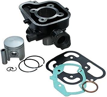 Zylinder Kit 70ccm Lc Wassergekühlt Für Peugeot Liegend Ludix Jet Force 50 C Tech Ohne Zylinderkopf Auto