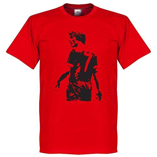 Kenny Dalglish Graffiti T-Shirt - rot