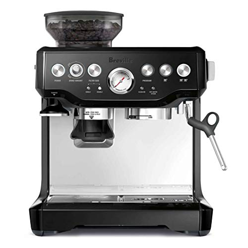 Breville the Barista Express BES870BSXL PID Semi-Automatic Espresso Machine w/Dose Control Grinding - Black Sesame by Breville