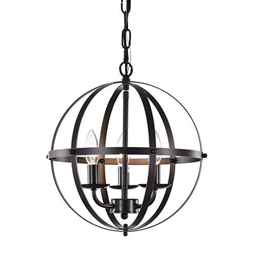 Orb Chandelier Oil Rubbed Bronze Chandelier Lighting 3 Light Globe Chandeliers