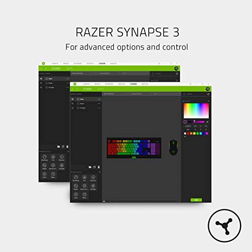 Razer RZ03-02640700-R3M1 Blackwidow Lite Gaming Keyboard, White