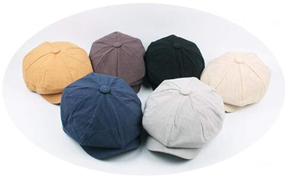 KAOKAOO Womens Wool Newsboy Brete Cabbie Cap Casual Hats