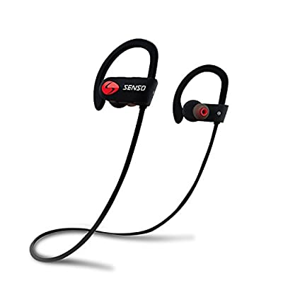 SENSO-Bluetooth-Headphones--Best-Wireless-Sports-Earphones-w--Mic-IPX7-Waterproof-HD-Stereo-Sweatproof-Earbuds-for-Gym-Running-Workout-8-Hour-Battery-Noise-Cancelling-Headsets