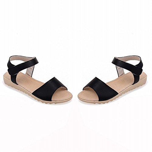 Dames Sandalen Comfort Dames Casual Mode Zomer Chic Sandalen Zwart