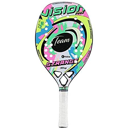 Vision pro Raqueta Tenis Playa Racket Strange Team 19: Amazon.es ...