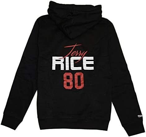 Mitchell & Ness Jerry Rice #80 San Francisco 49ers Super Bowl XXIII NFL Hoodie