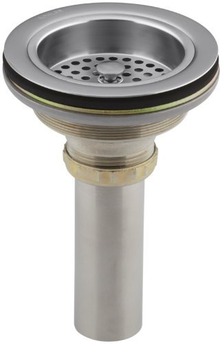 - KOHLER K-8801-G Duostrainer Sink Strainer, Brushed Chrome
