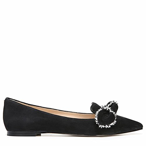 Sam Edelman Women's Rochester Ballet Flat Black Kid Suede Leather 100% original online outlet perfect low shipping fee online buy cheap low price fee shipping discount footaction iXOE7eiVG