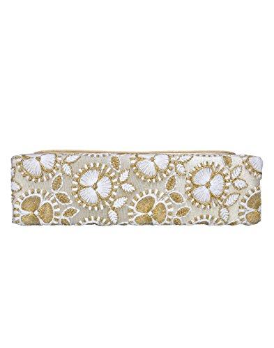 White DUCHESS Beautiful Articolo Artigianato Clutch donna da Very P0zOqHF