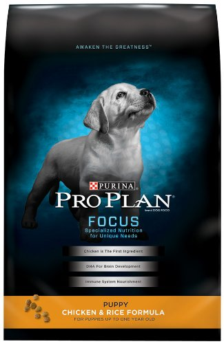 Purina Pro Plan Dry Puppy Food, Chicken and Rice Formula, 18-Pound Bag, My Pet Supplies