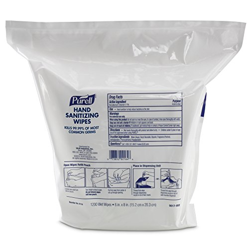 PURELL 9118 02l Antimicrobial Sanitizing Wipes