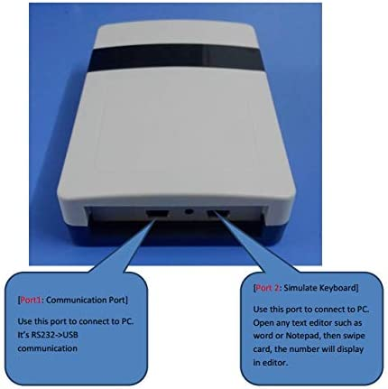 MENGQI-CONTROL USB Desktop UHF RFID Reader for Easy Programming Auto Read Card Tag Number