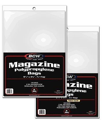 (5 Packs of Magazine Bags (500 Bags))