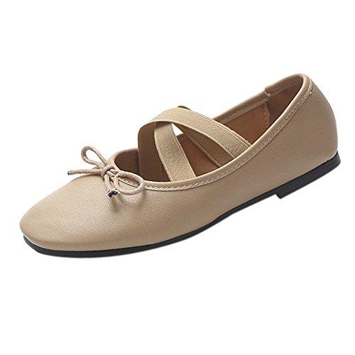Calzado Dama PAOLIAN C Bowknot Baratos con Bailarinas Manoletina Oto Calzado de o Vestir Plano Zapatos de para Cuero Fiesta Moda de Mujer z1OFq