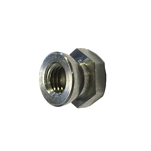 M6 Shear Nut A4 Stainless Steel (Permacone - snapoff - Security - Tamper Proof) Pack Size : 8 Generic