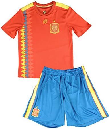 Réplica Oficial de la Primera Equipación de la Selección Española para el Mundial de Rusia 2018.: Amazon.es: Deportes y aire libre