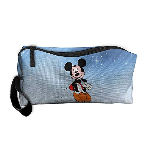 FOOOKL Mickey Mouse Portable Receiving Bag Make-up Cosmetic Bag Sewing Kit Stationery Bags Multi-Function Bag