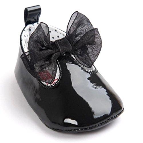 Zapatos Bebé niña primeros pasos â ¤ï¸ Amlaiworld Zapatos de bebé niñas  Bowknot de 32c7f848a76
