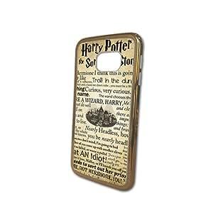 Harry Potter Deathly Hallows Map Logo Funda for Samsung Galaxy S6 Edge Funda Case Durable