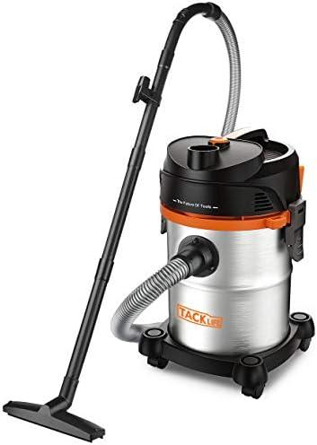 Multi-Filtre 20L 1200W Aspirateur sans Sacs Garage ect Tapis Pour Plancher 1.5m Tuyau TACKLIFE Aspirateur eau et poussi/ères 3 En1 Fonctions 5m C/âble PVC05B