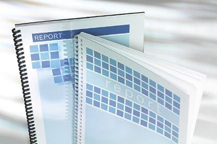 GBC CY011580 Copertina per Rilegatura in PVC, Formato A4, 0.15 mm, Trasparente, 100 Pezzi ACCO Brands