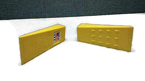 Good concept Set of 15 Tree Felling Wedges Yellow 5.5'' Plastic Logging Wedge by Good concept