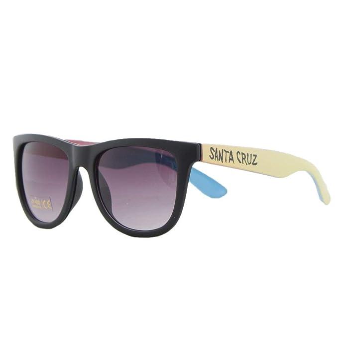 Santa Cruz Gafas De Sol Fade Hand Negro-Amarillo (Default ...