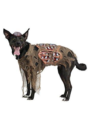 Fun World Zombie Dog Costume Large (40-60 pounds)