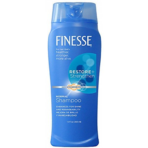 Finesse Texture Enhancing Shampoo - Finesse Restore + Strengthen, Shampoo 13 oz (Pack of 3)