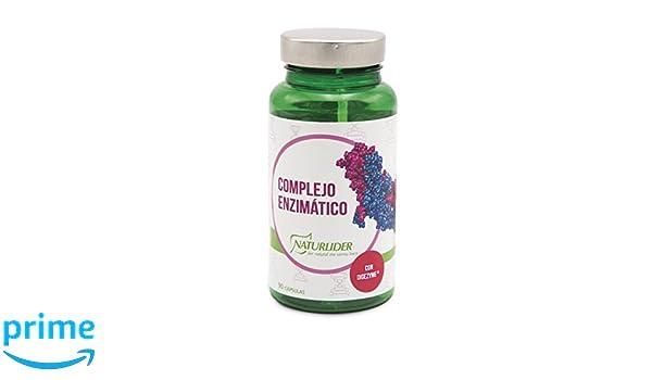 Naturlíder Complejo Enzimático Suplementos para Salud Digestiva - 90 Cápsulas: Amazon.es: Salud y cuidado personal