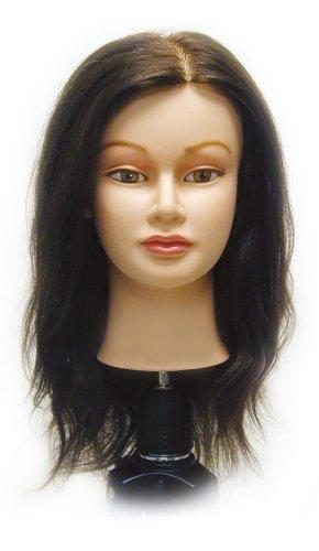 Celebrity Gabriela Cosmetology Human Hair Manikin, 19-21 Inch