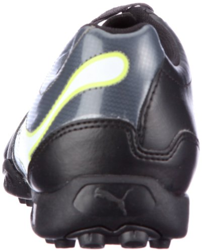 Puma - Scarpe da calcio lifestyle, nero (Schwarz (black-dark shadow-white-lime punch 02)), 41