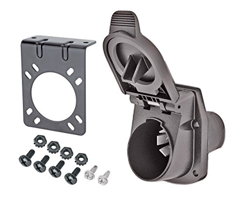 [Reese Towpower 8536511 Professional 7-Way Blade Plug-In Vehicle End Wiring Kit] (Toyota Electric Plug In)