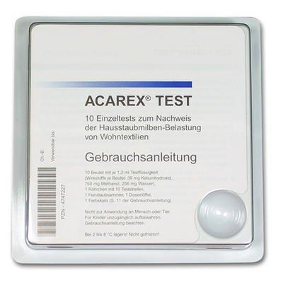 Acarex Hausstaubmilben Test