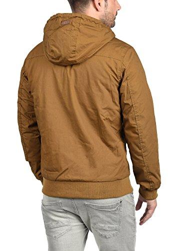 5056 Abrigo Tilly Capucha Solid De para Hombre Entretiempo Cinnamon Chaqueta con OvaqxaIf