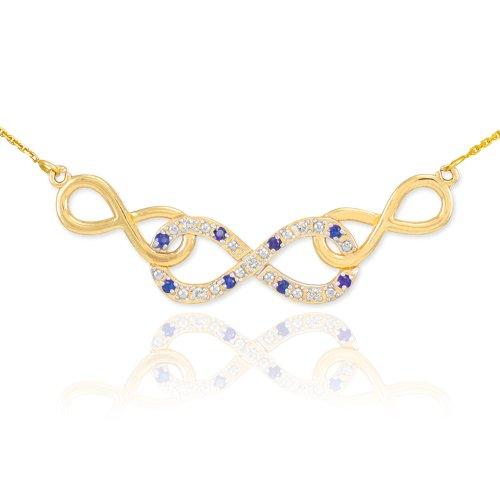 Yellow Gold Diamond Loop - 1