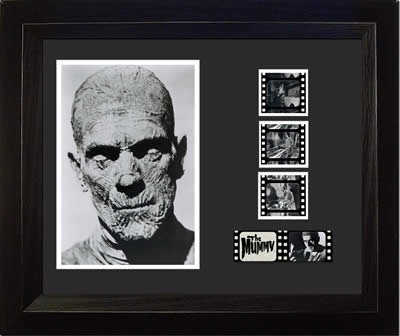 The MUMMY 1932 Boris Karloff Universal Horror Monster Movie 35mm Film Cell Display! from Trend Setters