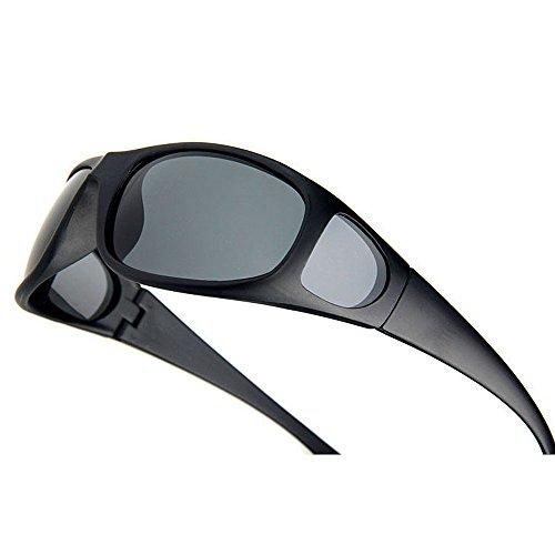 Gafas Green De Sol Gafas Color Gafas De Sol Polarizadas Gray Hombre para Sol de LBY TadWnT