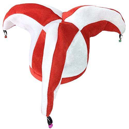 Blancho Bedding Fancy Dress Hat Jester Hat Fun Multi-Color Halloween Party Costumes,Clown Hat#7 ()