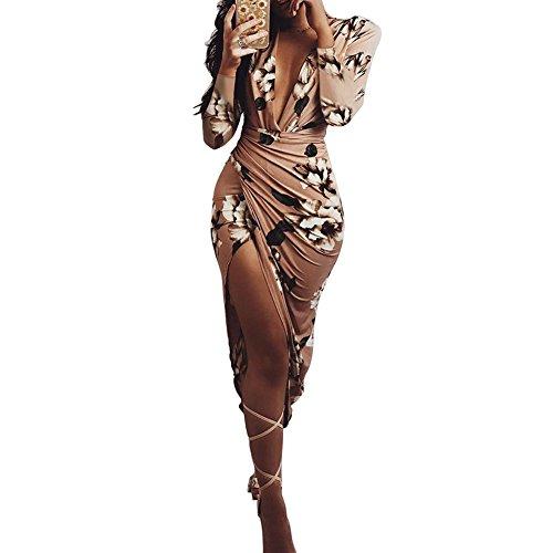 Sexy Vestido para mujer - Juleya Sexy Paseo Vestido de Fiesta Formal Dama de honor Boda Princesa Elegante Vestido de bola Swing Vestido de noche Maxi Vestido
