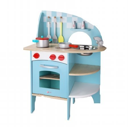 Classic Toy 4157 Deluxe Wood Kitchen by Classic (Classic Wood Kitchen)