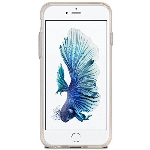 IPHONE 7 PLUS Hülle, [SLIM PLUS] VENTER® [Card Slot] [Metallic Farbe] Slim Fit Case [ID / Card Slot] Dual-Layer [Clear TPU Gelee & PC] Hybrid-Abdeckung für Apple IPHONE 7 PLUS