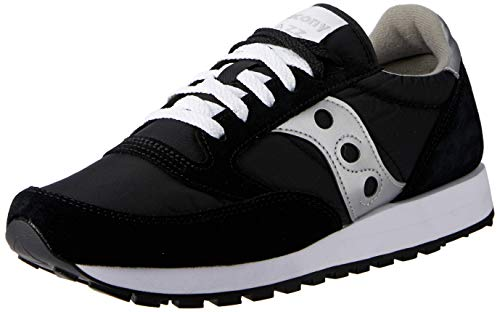 Saucony Originals Women's Jazz Original, Black/Silver, 8 M US